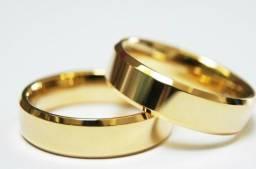 Aliança de Noivado e Casamento 18K