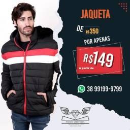 Jaqueta Puffer Aquecida -