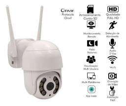 Camera Ip Wifi Externa Ptz Speed Dome (Prova Água)