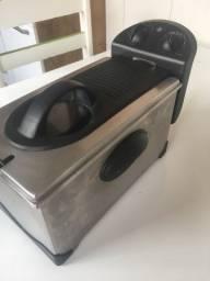 Fritadeira elétrica a óleo frita sim