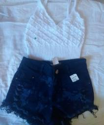 Short jeans e croppeds