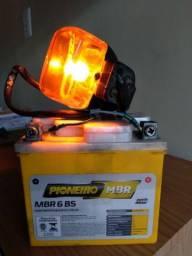 Bateria PIONEIRO para moto 6ha