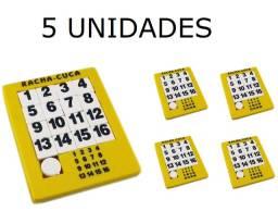 Racha Cuca - Jogo Quebra Cabeça Números 5 Unidades