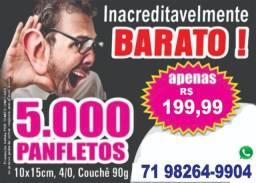5.000 Panfletos 199,99