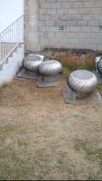 Exaustores eólico industrial usados