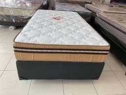 Promoçao Cama Box + Colchao Granada Prorelax 108x188 A Pronta Entrega