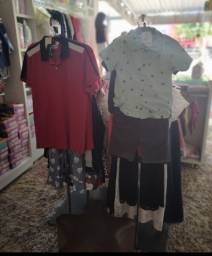 Título do anúncio: 2 Arara luxo em inox para roupas