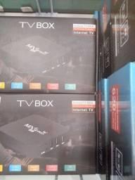 Tv box mxq pró 8g 64 gb de memória interna