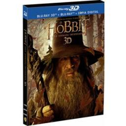 Blu-ray 3D + Blu-ray Hobbit uma jornada inesperada