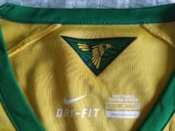 Título do anúncio: Camisa Nike Brasil (David Luiz)