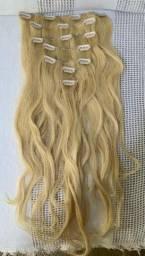 Extensor de Cabelo Clip - Remy Virign Hair - 7 peças