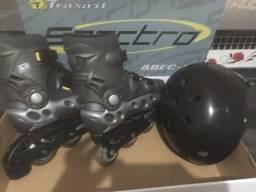 Roller spectro Traxart mais capacete
