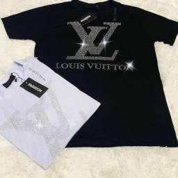 Camisa Louis Vuitton malha peruana / entrega gratuita para toda João pessoa