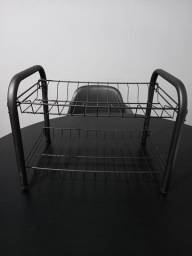 Escorredor de louça preto- Sem uso