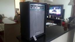 Caixa amplificada Oneal com USB e Bluetooth