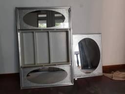 Armario banheiro com espelhos