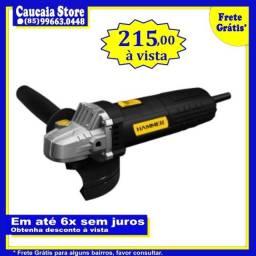 Esmerilhadeira e lixadeira Hammer 710W 220v