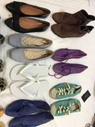 Sapatos novos usados varias grifes