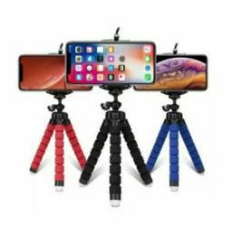 Mini tripe flexivel para celulares