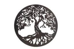 Mandala Arvore da Vida 60cm Rustica Betume