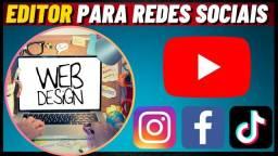 Título do anúncio: Editor - Youtube - Instagram - VídeoMaker - Vídeo nuggets