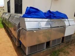 Vendemos Máquina de gelo cubo everest 50kg, 75kg, 150kg