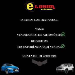 Contrata-se Vendedor de Automóveis