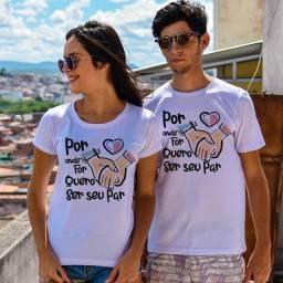 Kit de camisas dia dos namorados