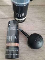 Kit Toppik Hair 27.5g Fibras de Queratina com Bico Borrifador