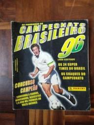 Raridade. Álbum de figurinhas panini completo Campeonato Brasileiro 1996