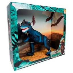 Dinossauro dinopark bee toys tiranossauro rex com som