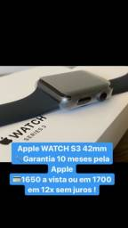 Apple Watch  S3 42mm 12veses sem juros
