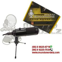 Microfone Condensador USB 2.0 em são luís ma loja mundonerdslz