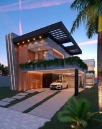 Alphaville Fortaleza, 457m2, 5 Suítes, Piscina, Varanda Gourmet, Hidro, DCE e 4 Vagas