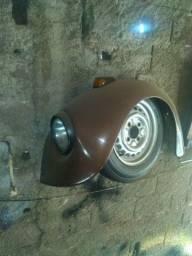Paralama dianteiro e traseiro lado do motorista fusca
