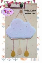 linda nuvem para decorar o quartinho da sua princesa NOVO