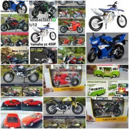 MINIATURAS MOTOS vários modelos