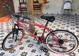 Troco bicicleta 18 marchas por celular