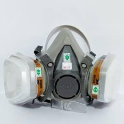 Máscara 3M Completa - Respirador 6200 + Filtros 5n11-501-6001-2091