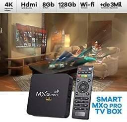 TV BOX 8GB+64GB ANDROID 11.1 LANÇAMENTO