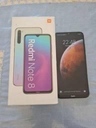 Xiaomi note8, 64gb, 4 câmera, em perfeito estado, semi novo.