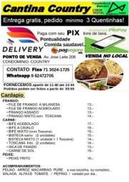 Quentinhas de Qualidade, bom Preço, Entrega Pontual, em Lauro de Freitas, Caji!
