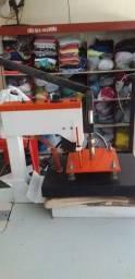 Vende-se máquina de estampar roupa 110v