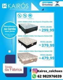DIRETO DA FÁBRICA! Cama Unibox Casal à partir de 299$