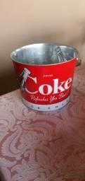 Balde para gelo coca cola