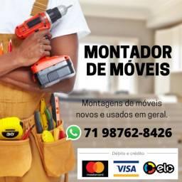 Montador de Móveis - aceitamos cartão de crédito