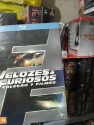 Box velozes e furiosos  blu ray  7 discos LACRADOS
