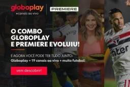 Globo play+ Premier e Netflix