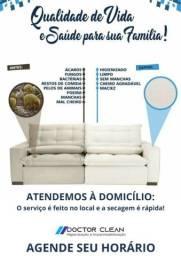 Desinfecção de sofá
