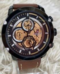 Relógios masculinos Naviforce  couro luxo